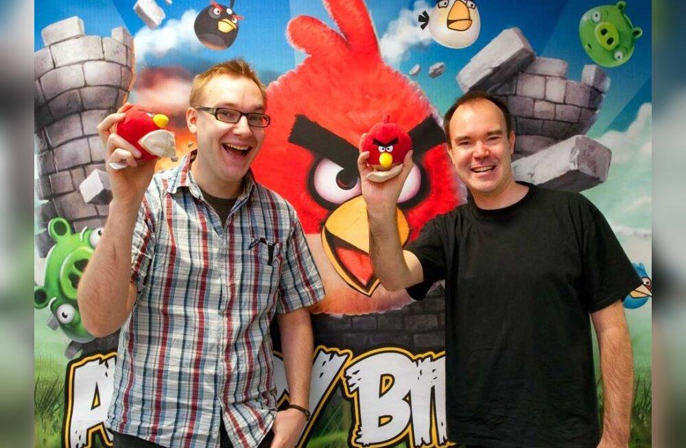 Принесшая своим создателям миллионы евро игра Angry Birds выходит в реальную жизнь