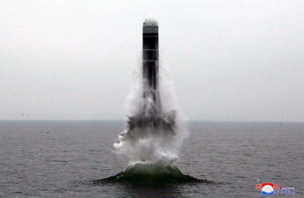 Põhja-Korea kinnitas raketi väljalaskmist allveelaevalt ja nimetas seda uueks faasiks riigikaitses