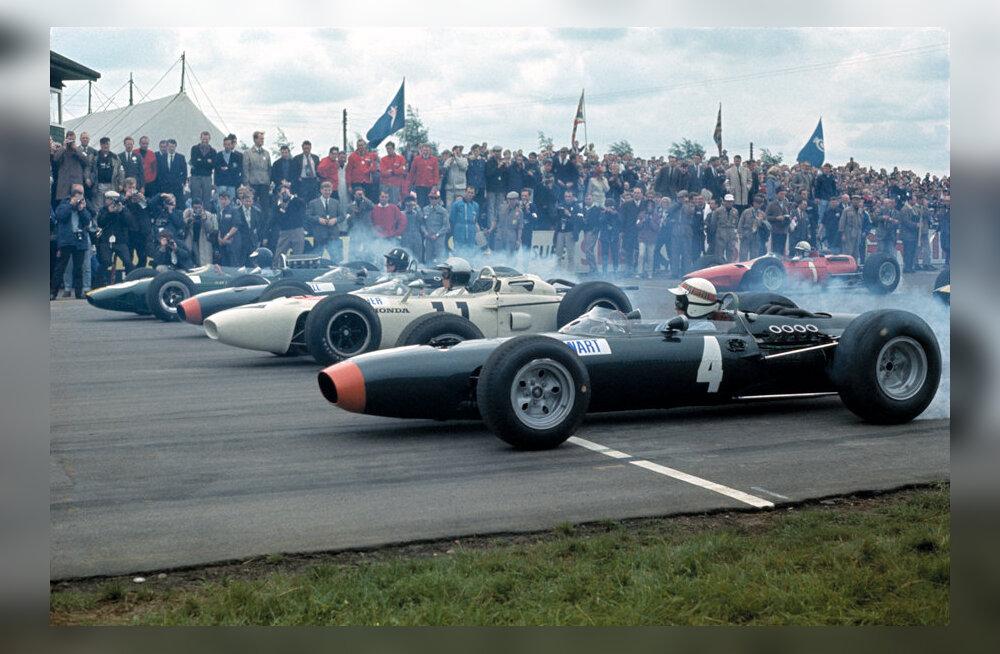 F1 aastal 1965: siis, kui viimati Monaco GP-l autoga vette lennati