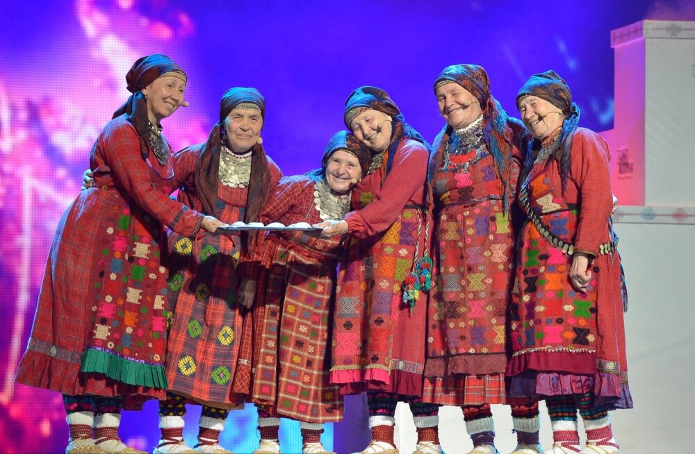 Eurovisioon 2012, Bakuu, Natalja Pugatšova on kõige väiksem, kuid kõige säravam