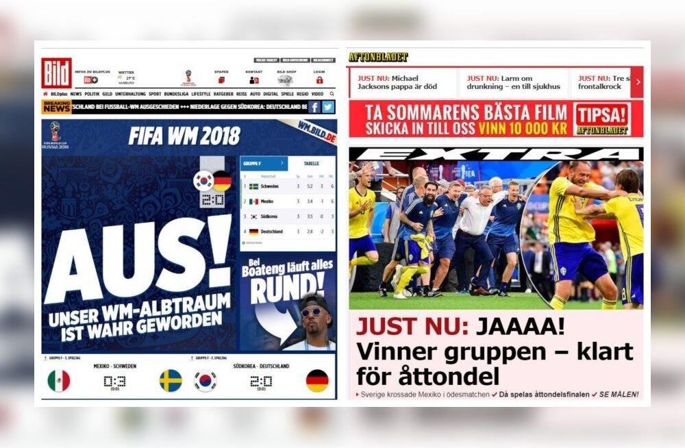 ФОТО: Германия в шоке! Шведы и мексиканцы на седьмом небе от счастья