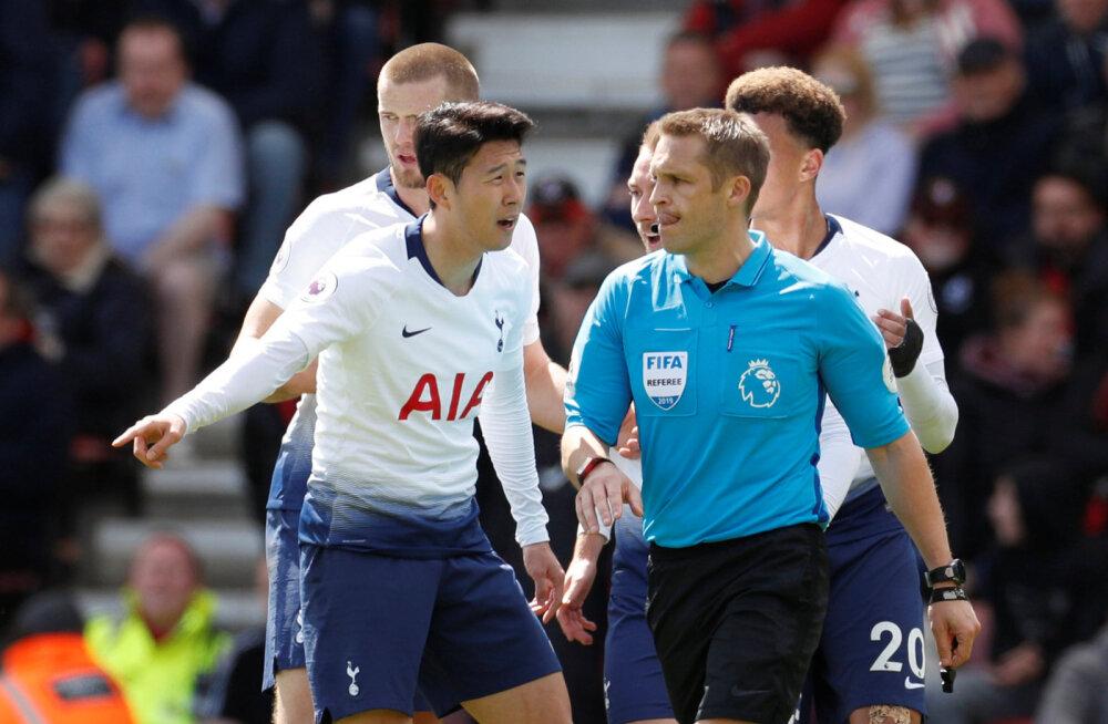 Inglismaa tippklubide kriis jätkub: üheksakesi mänginud Tottenham sai võõrsil valusa kaotuse