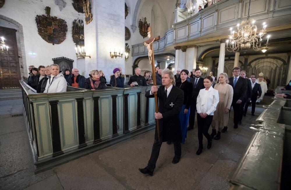Ülestõusmispühade missa Toomkirikus