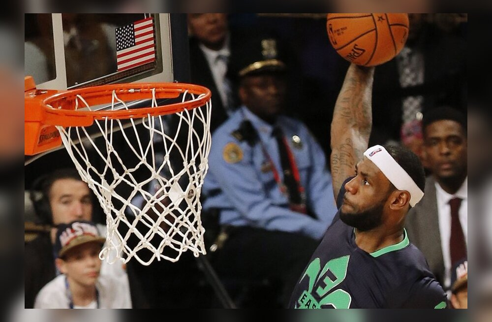 TOP 10 VIDEO: Vaata NBA tähtede mängu uhkemaid sooritusi!