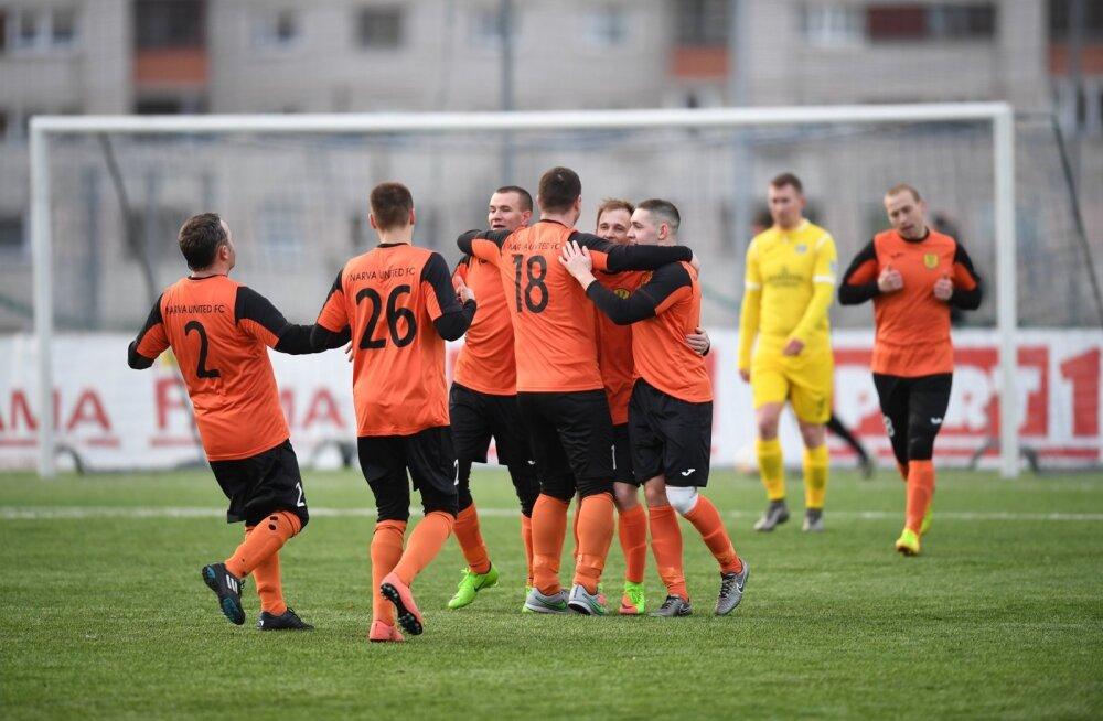Tipneri karikavõistlus Narva United vs Kuressaare