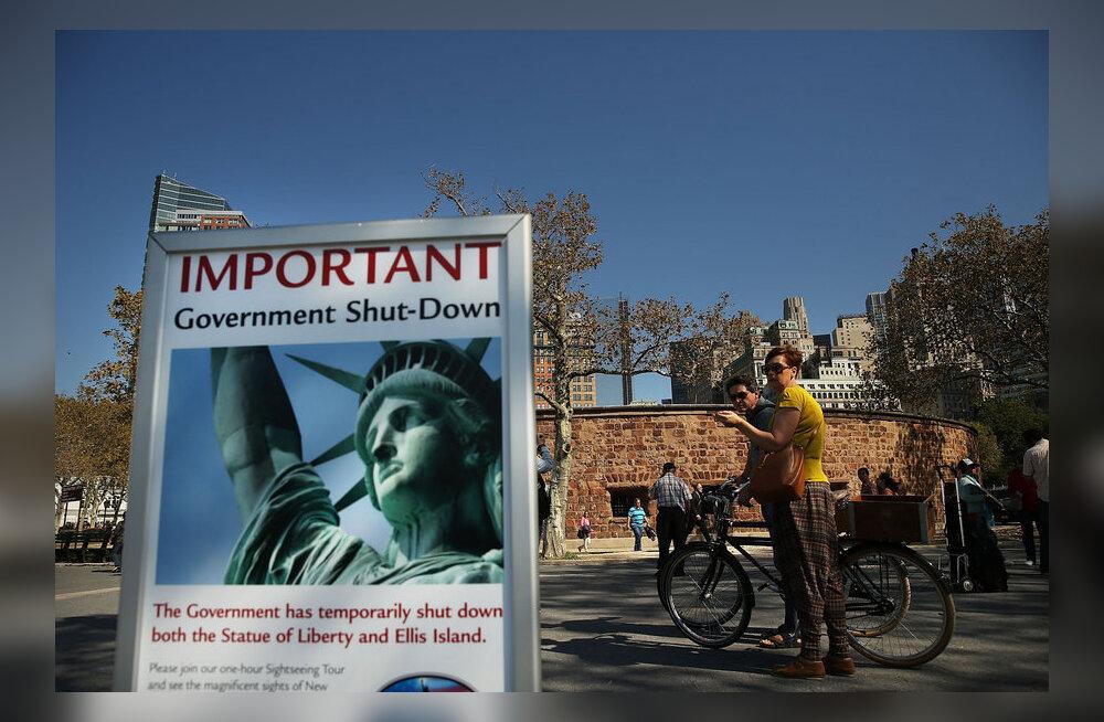 Valitsusasutuste sulgemine muudab USA-s reisimise tülikaks