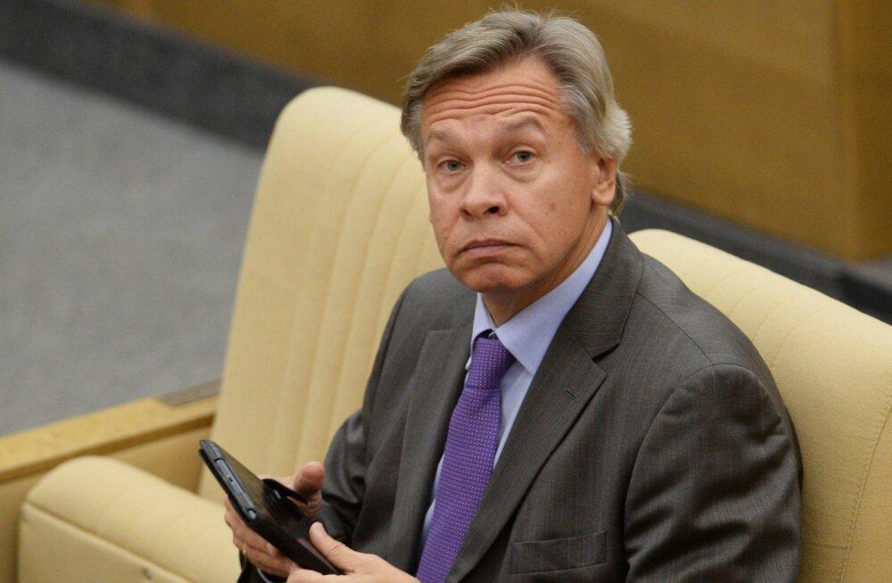Puškov: London ja Berliin peaksid vähem mõtlema baltlaste kaitsmisele väljamõeldud hirmude eest