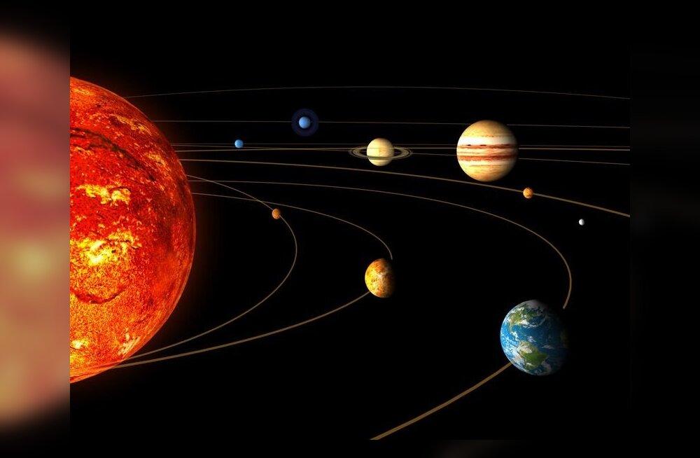 Astronoomid: Maa-laadsed planeedid on kosmoses tavalised