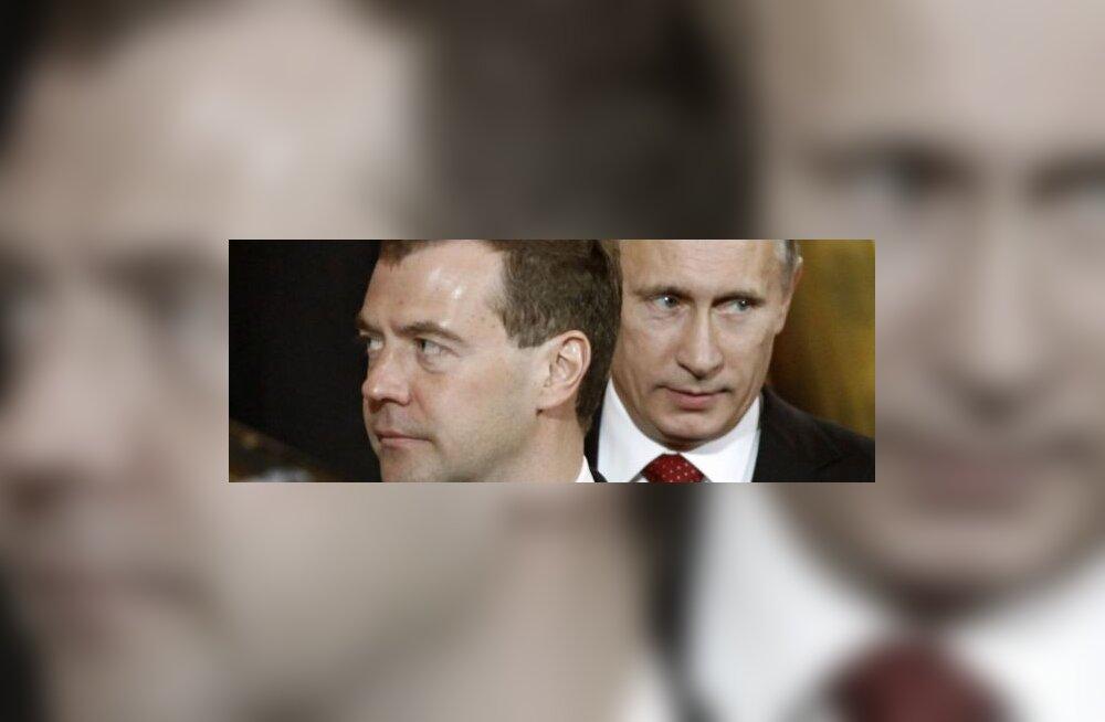 Medvedev ja Putin