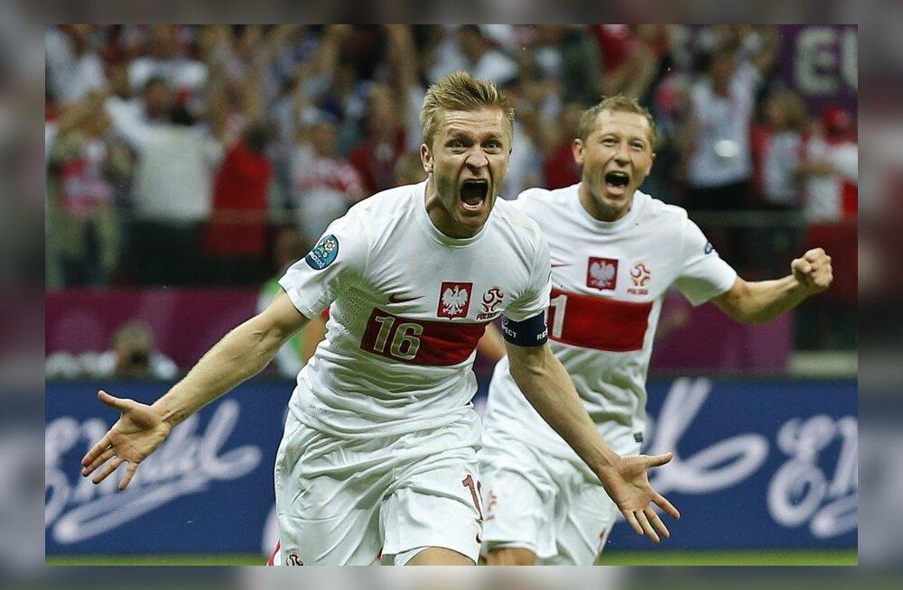 Poolakas Jakub Błaszczykowski lõi värava