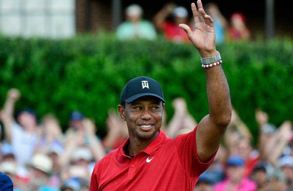 Tiger Woods, jälle võitja!