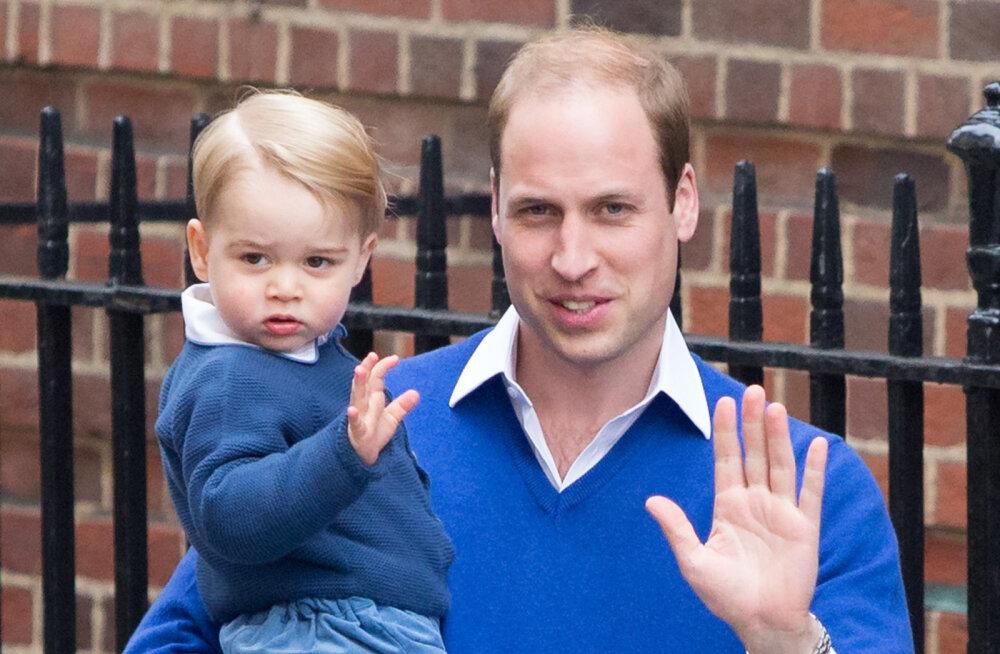 Palju õnne! Prints George tähistab täna oma sünnipäeva