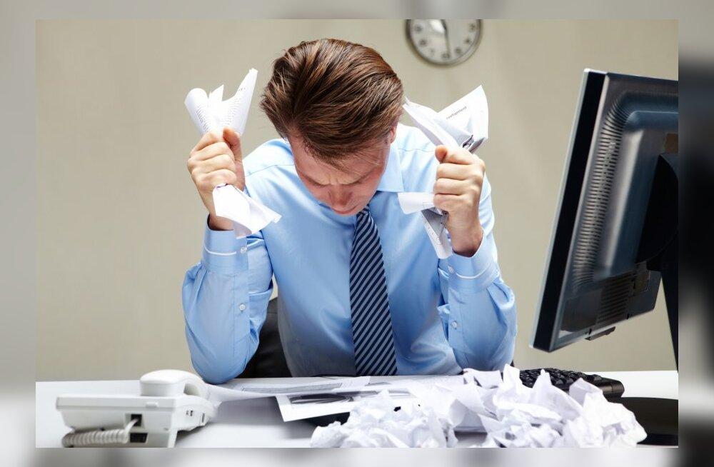 Uuring: tähtaegselt tasumata arved põhjustavad rekordiliselt kõrget tööpuudust