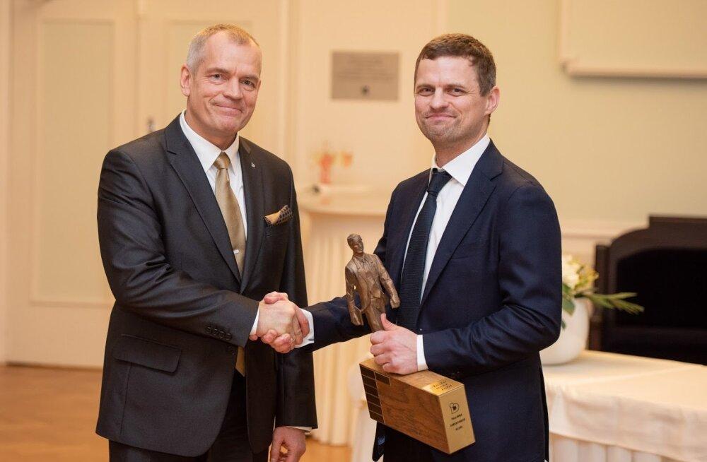 Tallinna Direktorite Klubi aasta noore juhi preemia sai rohetehnoloogiaettevõtte juht