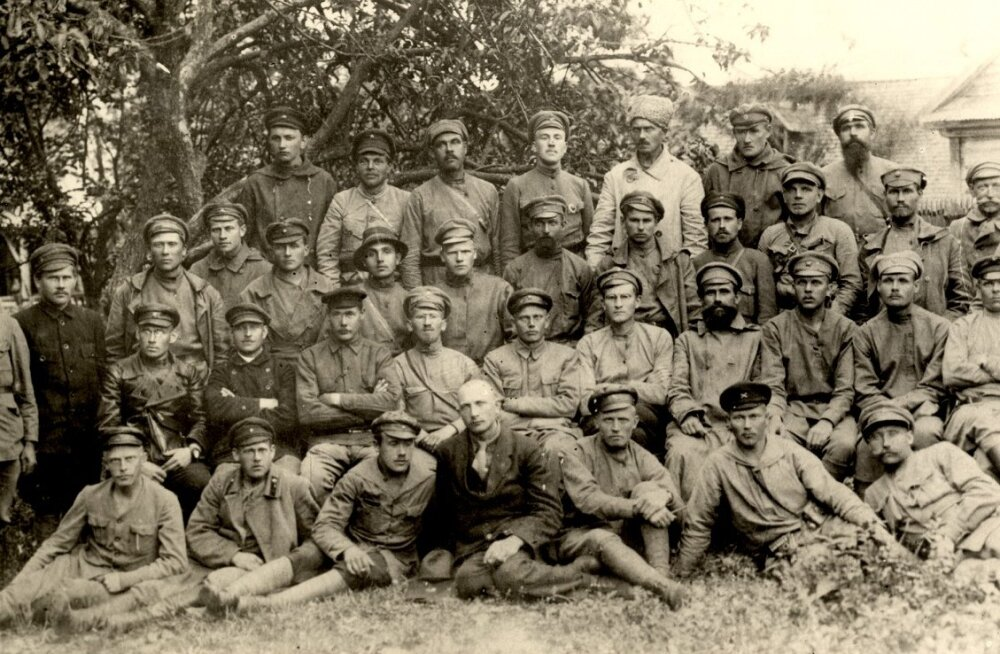 Vaenlane Vabadussõjas - Punaarmee