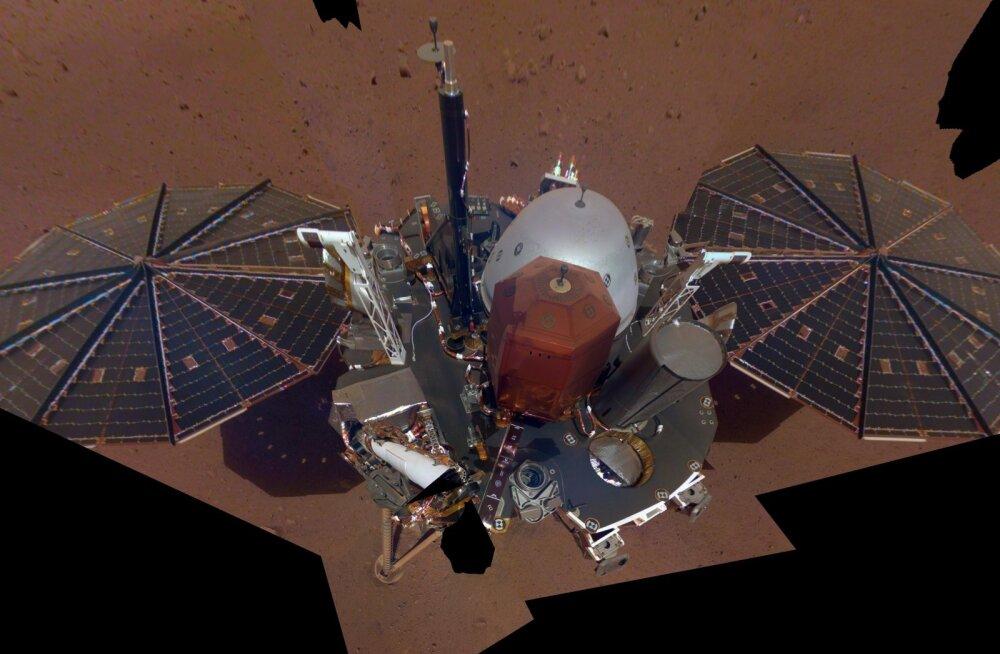 Marsi ilmajaam töötab kenasti, leitud on ka esimene märkimisväärne oht