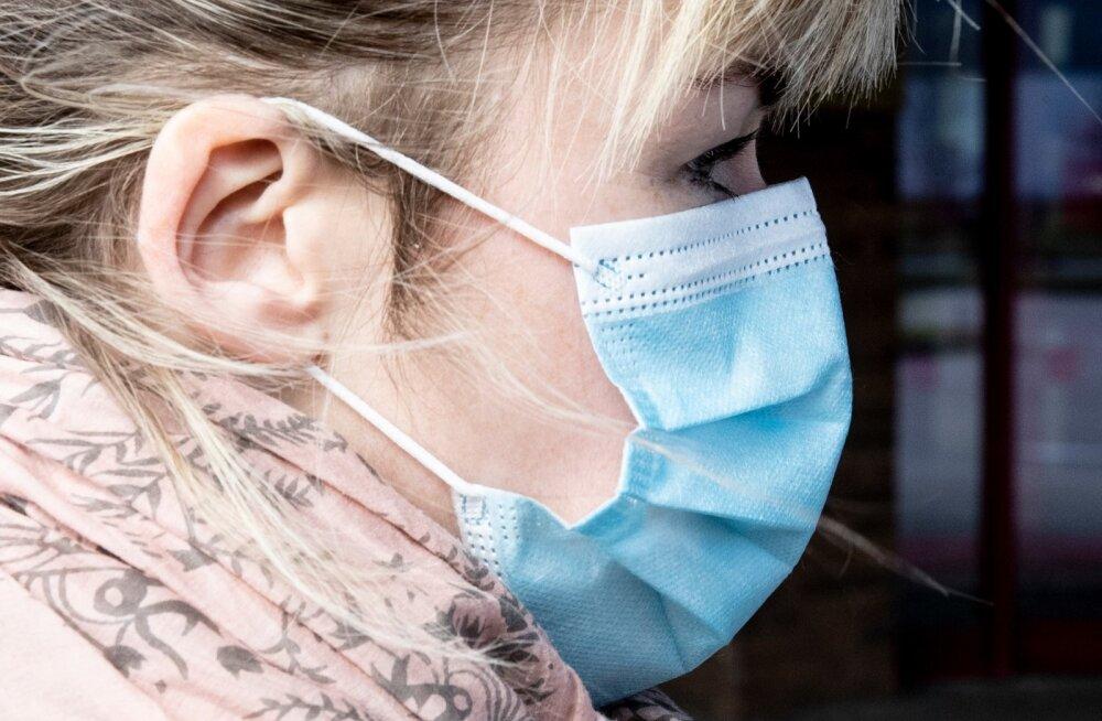 Kui maski kandmine võimaldab leevendada kehtivaid piiranguid, oleks valmis kohustuslikus korras avalikes siseruumides maski kandma 73% elanikest.