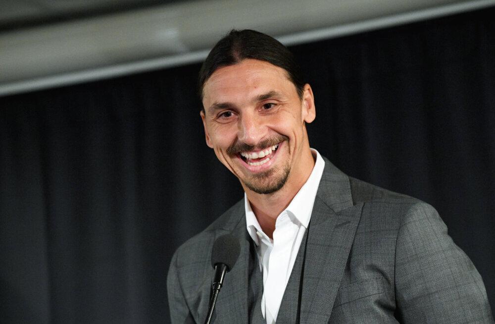 Zlatan Ibrahimovic tegi tünga ja ei tule Eestisse mängima