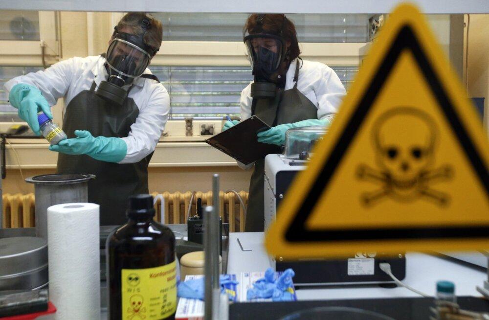 Keemiarelv sariin - sõjaeelne sakslaste leiutis, tänaseni Süüria despoodi lemmikrelv