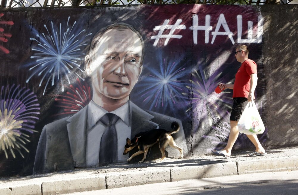 RAAMATUKATKEND   Krimmi elanike peamine eluviis on irratsionaalne lootus