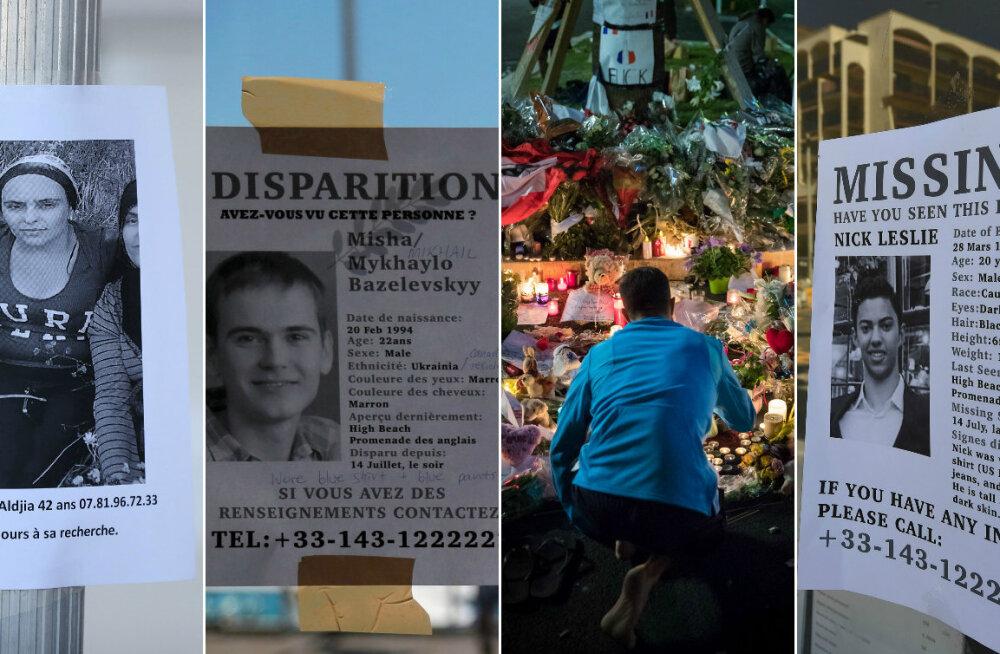 Nice'i terrorirünnaku ohvrid: kes nad olid ja mida on nende kohta teada?