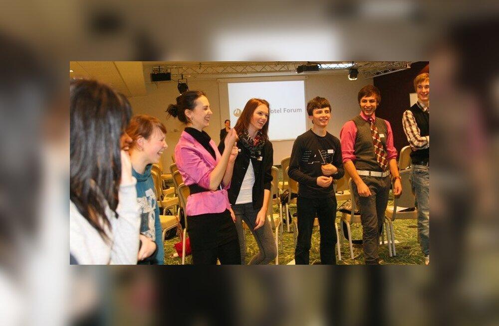 Молодежь Ида-Вирумаа получила хорошие советы по реализации своих проектов