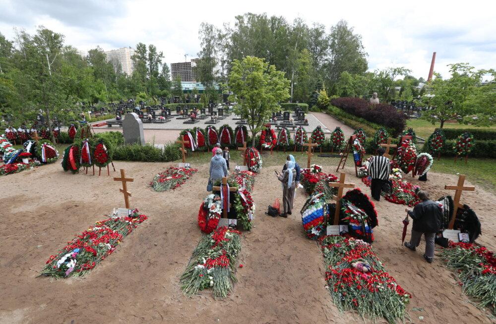 """Vene allveelaevnike matustel räägiti """"planetaarse ulatusega katastroofi ärahoidmisest"""""""