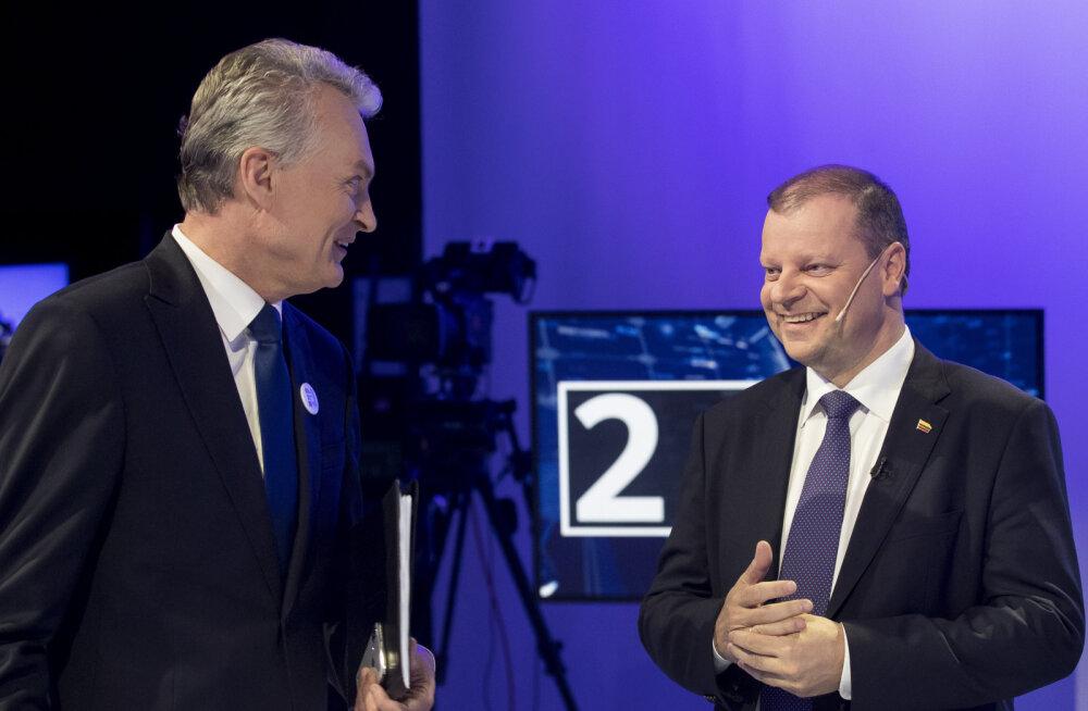 Leedu mõjukaimad poliitikud on ekspertide ja rahva hinnangul peaminister Skvernelis ja president Nausėda