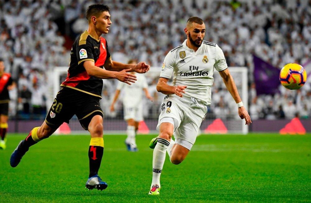 Karim Benzema tabamus tõi Madridi Realile võidu.