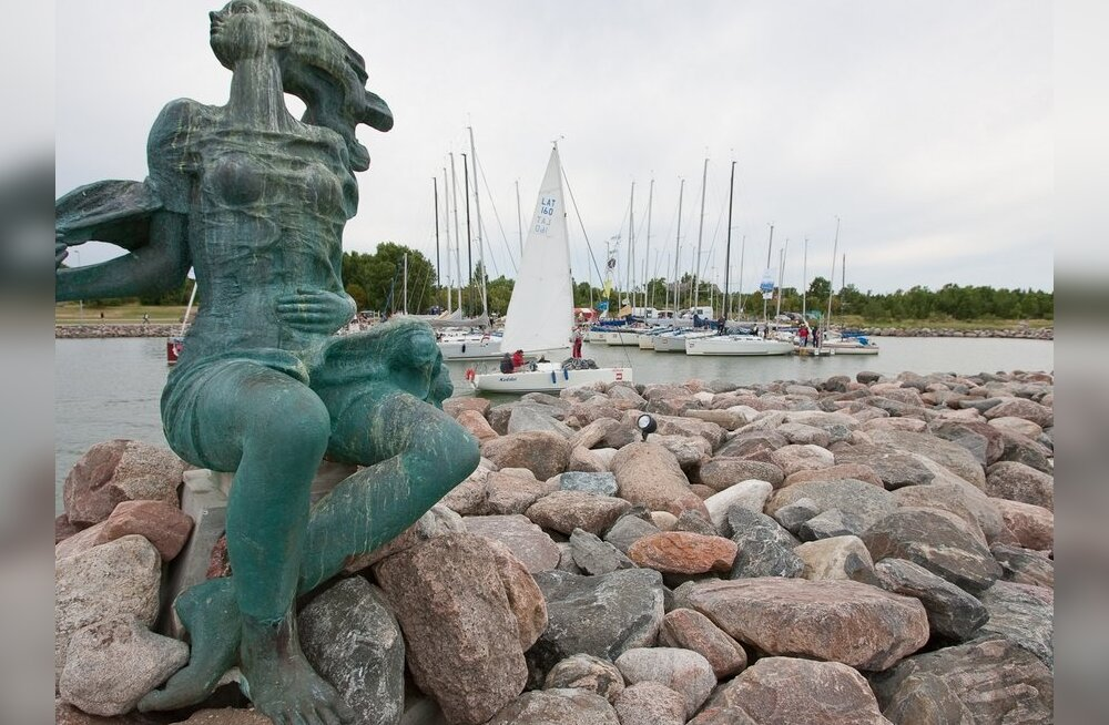FOTOD: 54. Muhu Väina regatt jõudis Hiiumaale, Heltermaa sadamasse