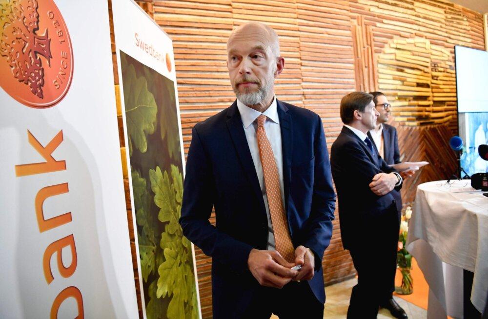 Swedbank tegi juhtkonnas kohe jõustunud muudatused