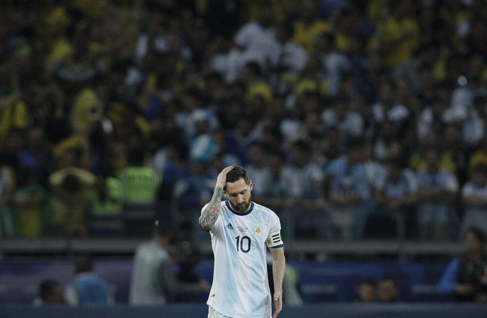 Triumfita Messi ehk milles peituvad Argentina tiitlipõua põhjused?