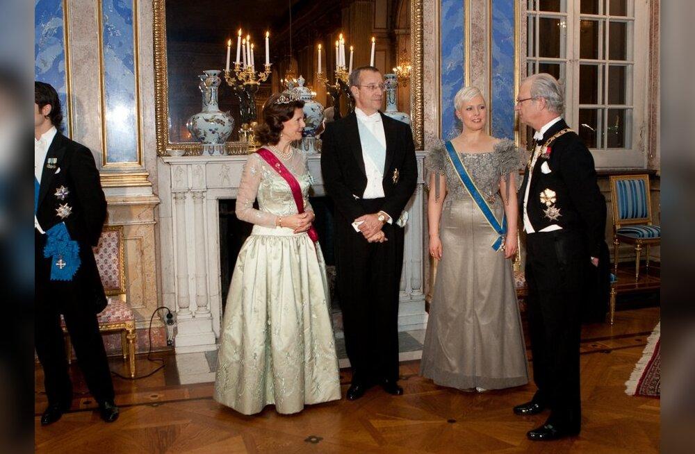 VAATA, mida kinkisid Ilvesed Rootsi kuningapaarile!