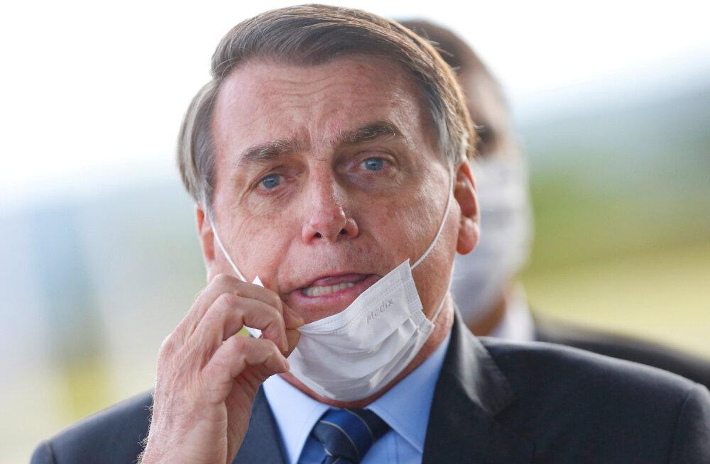 Brasiilia ööpäevane nakatumiste arv jõudis rekordilise ligi 14 000-ni, aga president nõuab piirangute kaotamist