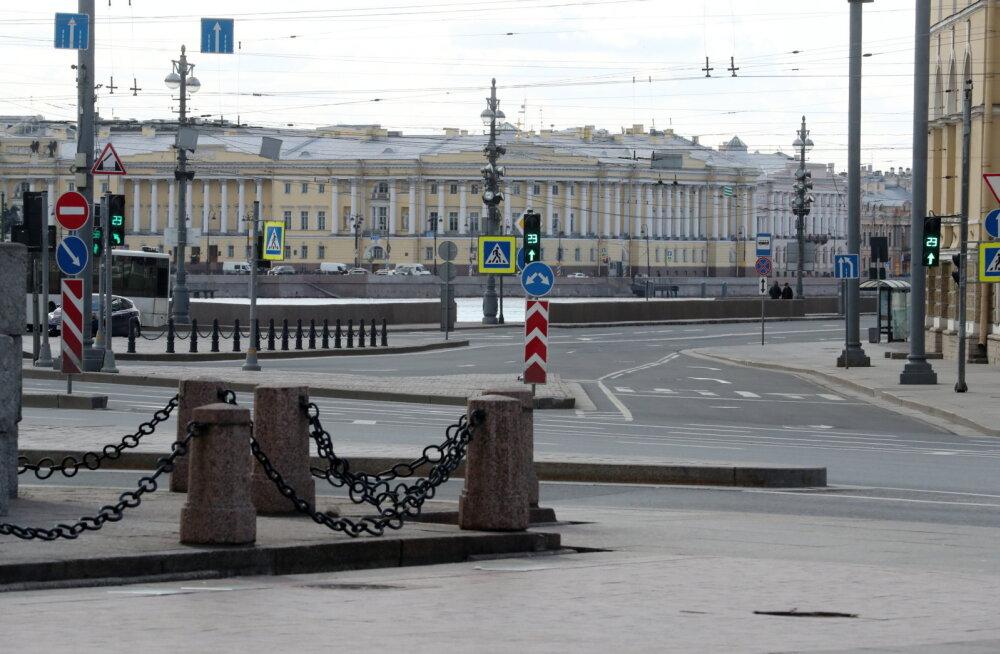 Eneseisolatsiooni meetmed kehtivad nüüd ka Peterburis