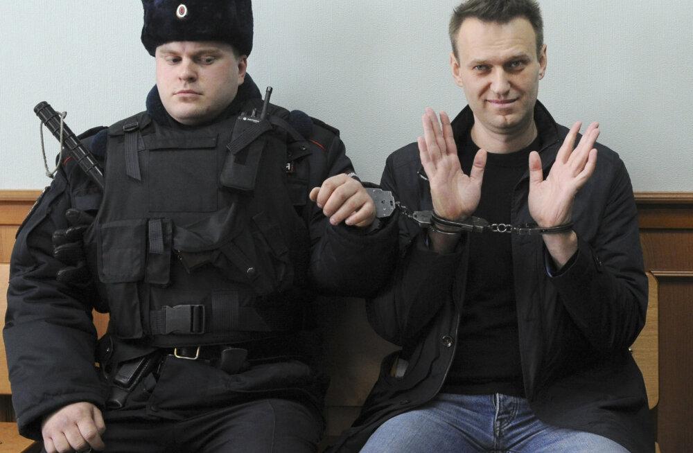 Navalnõi lubab juunis üle Venemaa uusi massimeeleavaldusi