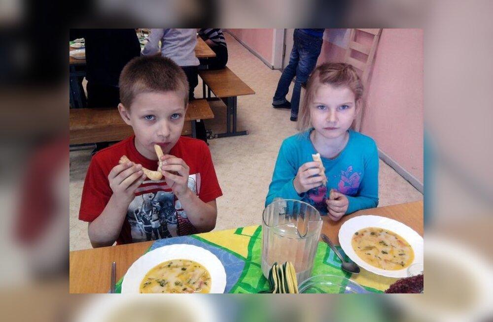 Konnakoivad lasteaed-algkooli menüüs? Miks mitte!