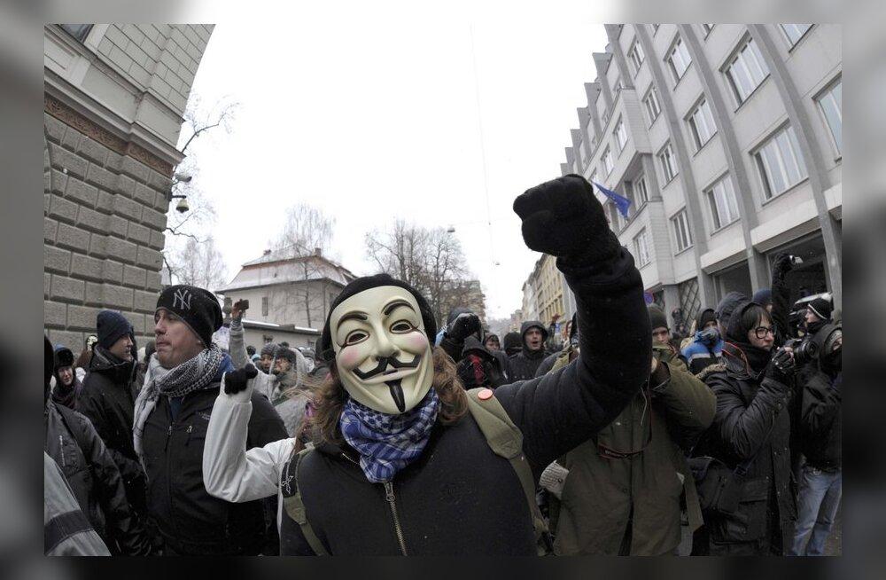 ACTA vastane protest