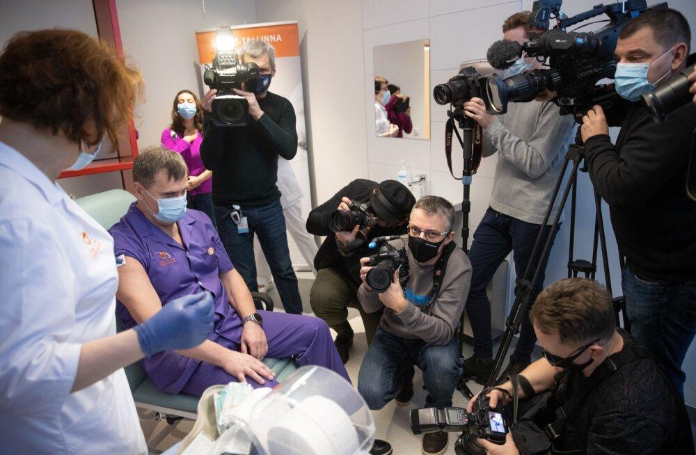 COVID-19 vaktsineerimine Tallinnas
