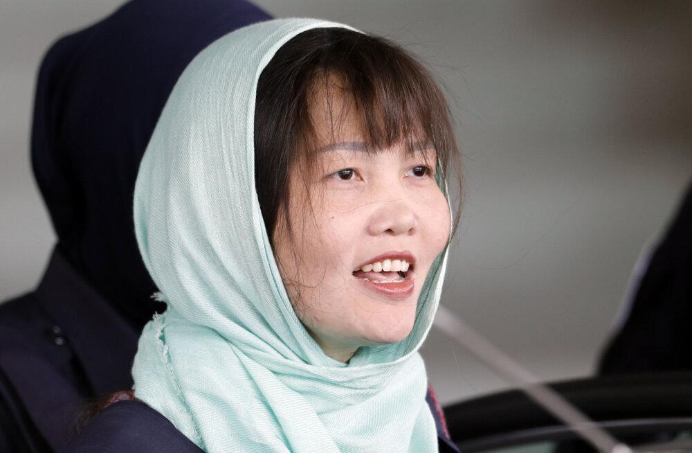 Kim Jong-uni poolvenna mõrvas süüdistatud vietnamlanna tunnistas end süüdi väiksemas kuriteos ja võib vabaneda juba mais