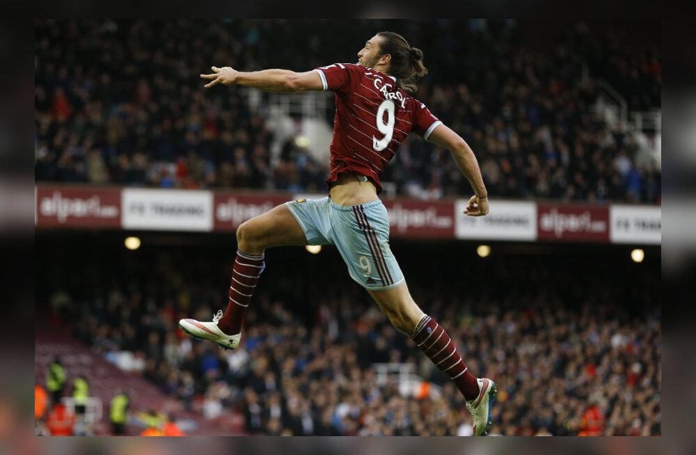 West Hami ründaja Andy Carroll