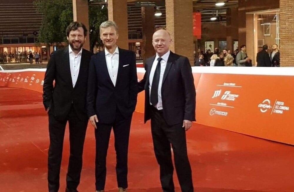 """ŠIKID Mait Malmsten, Andres Puustusmaa ja Priit Pajusaar """"Kohtuniku"""" linastuspäeval Rooma filmifestivalil. """"Kohtunik"""" on varem linastunud Shanghai rahvusvahelisel filmifestivalil ja Venemaa filmifestivalil """"Aken Euroopasse"""", kus Mait Malmstenit tunnustati näitlejapreemiaga. Film valiti ka Varssavi rahvusvahelise filmifestivali """"Free Spirit"""" võistlusprogrammi."""