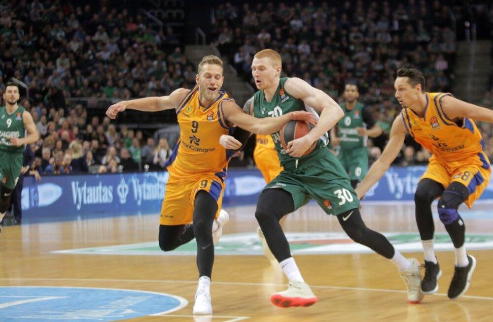 Gran Canaria hävis Kaunases, Vene viskas 17 minutiga 6 punkti