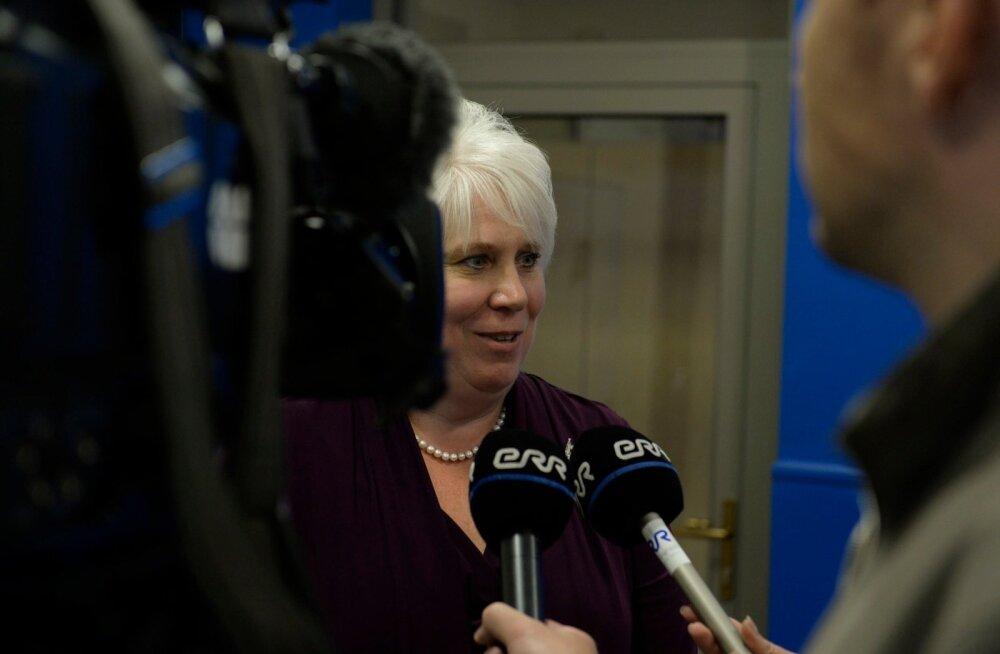 VIDEO JA FOTOD : Reformierakond esitab välisministri kandidaadiks Marina Kaljuranna