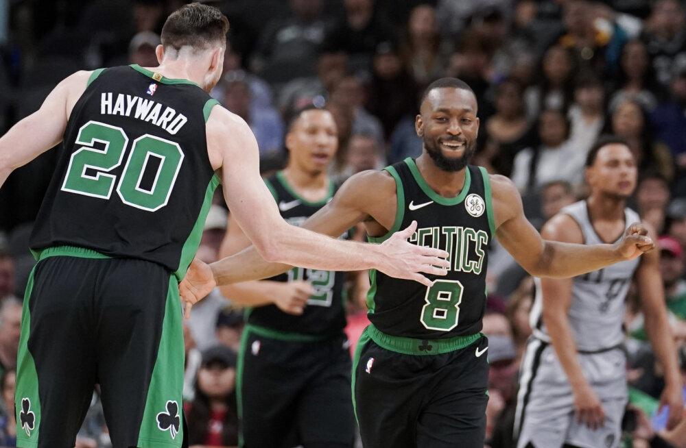 VIDEO | Celtics teenis seitsmenda järjestikuse võidu, kuid jäi ilma käeluu murdnud põhimängijast