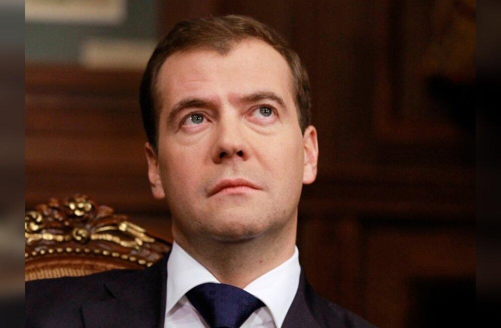 Medvedev: Venemaa valimiste tulemused ei ole ette ära otsustatud