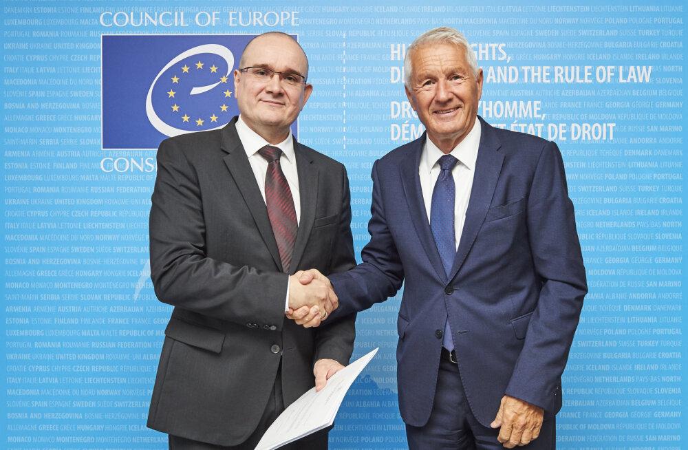 Eesti alalise esindajana Euroopa Nõukogu juures alustas tööd suursaadik Rasmus Lumi