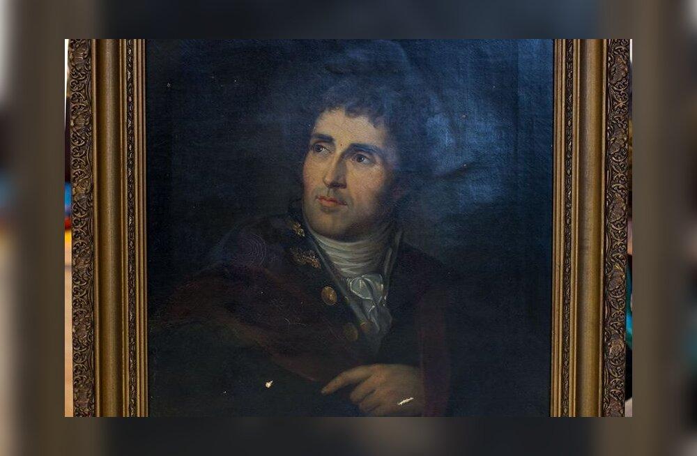 Kadunuks peetud rektor Parrot' portree jõudis tagasi Tartu ülikooli