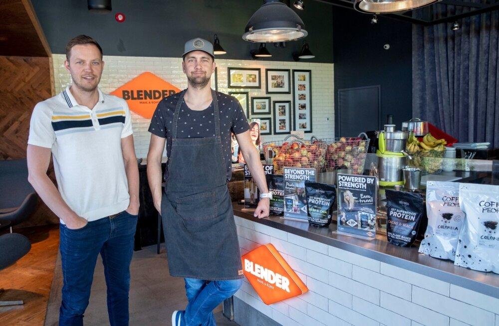 Sven Nuum (vasakul) ja Teet Torim ütlevad, et tervislikkusest lahutab eestlaste toidulauda veel pikk tee.