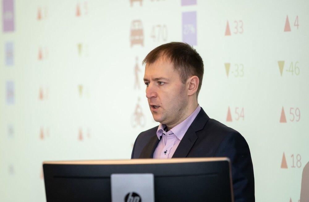Maanteeameti strateegilise planeerimise osakonna juhataja Erik Ernits.